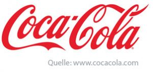 Coca Cola Typografie Logo