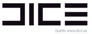Dice Typografie Logo