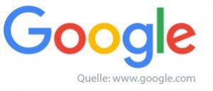 Google Typografie Logo