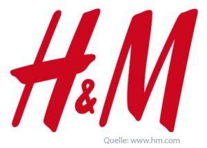 H&M Typografie Logo