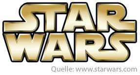 Star Wars Typografie Logo