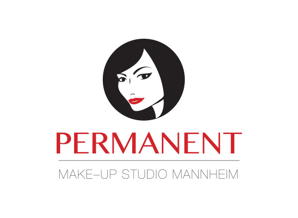beauty salon logo frau