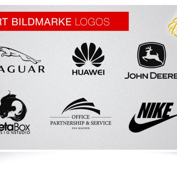 Wort Bildmarke Logos