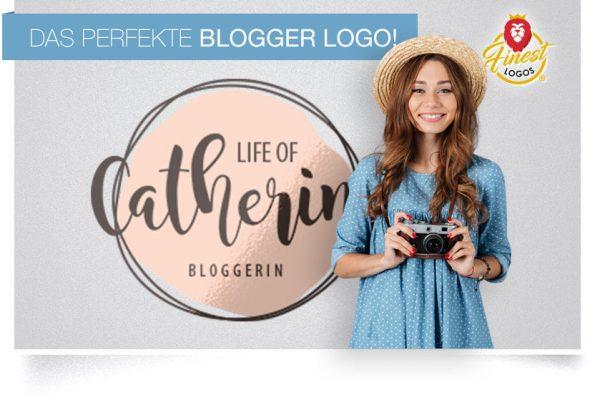 Bloggerlogo und Instagram