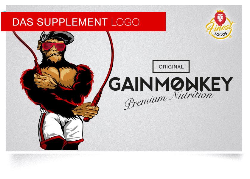 gainmonkey supplement hersteller logo